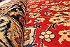 Isfahan Red Hand Knotted 98 X 131  Area Rug 100-28137 Thumb 4