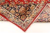 Isfahan Red Hand Knotted 98 X 131  Area Rug 100-28137 Thumb 5