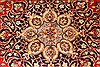 Isfahan Red Hand Knotted 98 X 131  Area Rug 100-28137 Thumb 9