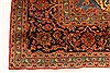 Kashan Red Hand Knotted 99 X 134  Area Rug 100-28138 Thumb 10