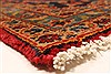 Kashan Red Hand Knotted 99 X 134  Area Rug 100-28138 Thumb 11