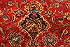 Kashan Red Hand Knotted 99 X 134  Area Rug 100-28138 Thumb 13