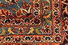 Kashan Red Hand Knotted 99 X 134  Area Rug 100-28138 Thumb 1