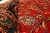 Kashan Red Hand Knotted 99 X 134  Area Rug 100-28138 Thumb 4