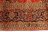 Kashan Red Hand Knotted 99 X 134  Area Rug 100-28138 Thumb 8