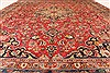 Kashan Red Hand Knotted 97 X 1210  Area Rug 100-28139 Thumb 11