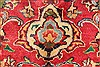 Kashan Red Hand Knotted 97 X 1210  Area Rug 100-28139 Thumb 2
