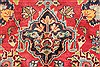Kashan Red Hand Knotted 97 X 1210  Area Rug 100-28139 Thumb 3