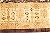 Pishavar Beige Hand Knotted 120 X 176  Area Rug 250-28140 Thumb 6