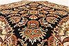 Jaipur Black Octagon Hand Knotted 50 X 50  Area Rug 250-28203 Thumb 5