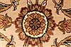 Jaipur Beige Hand Knotted 60 X 90  Area Rug 250-28206 Thumb 5