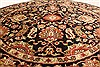 Jaipur Black Round Hand Knotted 60 X 60  Area Rug 250-28211 Thumb 10