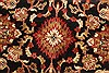 Jaipur Black Round Hand Knotted 60 X 60  Area Rug 250-28211 Thumb 7