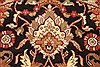 Jaipur Black Round Hand Knotted 60 X 60  Area Rug 250-28211 Thumb 8