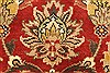 Jaipur Red Round Hand Knotted 60 X 60  Area Rug 250-28212 Thumb 5