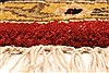 Jaipur Red Round Hand Knotted 60 X 60  Area Rug 250-28212 Thumb 6