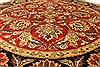 Jaipur Red Round Hand Knotted 60 X 60  Area Rug 250-28212 Thumb 9