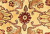 Jaipur Beige Round Hand Knotted 60 X 60  Area Rug 250-28213 Thumb 6