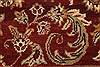 Jaipur Red Hand Knotted 60 X 90  Area Rug 250-28215 Thumb 6