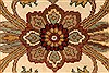 Jaipur Beige Round Hand Knotted 80 X 80  Area Rug 250-28217 Thumb 4