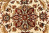 Jaipur Beige Round Hand Knotted 80 X 80  Area Rug 250-28217 Thumb 8