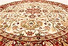 Jaipur Beige Round Hand Knotted 80 X 80  Area Rug 250-28217 Thumb 9