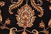 Jaipur Black Hand Knotted 40 X 60  Area Rug 250-28218 Thumb 5