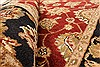 Jaipur Red Hand Knotted 40 X 60  Area Rug 250-28219 Thumb 1