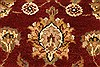 Jaipur Red Hand Knotted 40 X 60  Area Rug 250-28219 Thumb 6