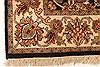 Jaipur Black Hand Knotted 40 X 60  Area Rug 250-28220 Thumb 7