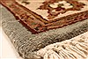 Jaipur Beige Hand Knotted 30 X 50  Area Rug 250-28223 Thumb 6