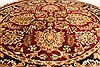 Jaipur Beige Round Hand Knotted 40 X 40  Area Rug 250-28224 Thumb 9