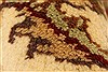 Jaipur Red Square Hand Knotted 40 X 40  Area Rug 250-28228 Thumb 1