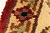 Jaipur Red Square Hand Knotted 40 X 40  Area Rug 250-28228 Thumb 2