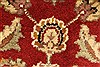 Jaipur Red Square Hand Knotted 40 X 40  Area Rug 250-28228 Thumb 4