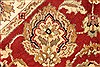 Jaipur Red Square Hand Knotted 40 X 40  Area Rug 250-28228 Thumb 5
