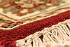 Jaipur Red Square Hand Knotted 40 X 40  Area Rug 250-28228 Thumb 6