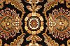 Jaipur Black Square Hand Knotted 40 X 40  Area Rug 250-28229 Thumb 8
