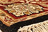 Jaipur Black Square Hand Knotted 40 X 40  Area Rug 250-28231 Thumb 10