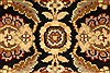 Jaipur Black Square Hand Knotted 40 X 40  Area Rug 250-28231 Thumb 1