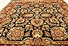 Jaipur Black Square Hand Knotted 40 X 40  Area Rug 250-28231 Thumb 3