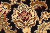 Jaipur Black Square Hand Knotted 40 X 40  Area Rug 250-28231 Thumb 8