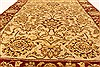 Jaipur Beige Hand Knotted 40 X 60  Area Rug 250-28240 Thumb 4