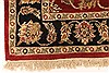 Jaipur Red Hand Knotted 40 X 60  Area Rug 250-28242 Thumb 2