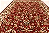 Jaipur Red Hand Knotted 40 X 60  Area Rug 250-28243 Thumb 4