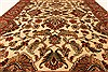 Jaipur Beige Hand Knotted 40 X 60  Area Rug 250-28246 Thumb 4