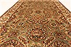 Jaipur Green Hand Knotted 40 X 60  Area Rug 250-28248 Thumb 4