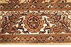 Jaipur Yellow Hand Knotted 50 X 70  Area Rug 250-28251 Thumb 3