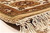 Jaipur Yellow Hand Knotted 50 X 70  Area Rug 250-28251 Thumb 9