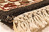 Jaipur Brown Hand Knotted 50 X 70  Area Rug 250-28252 Thumb 13